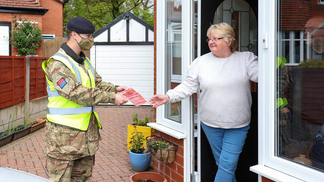Soldiers have been working alongside volunteers and local health teams in Bolton to suppress Covid cases.