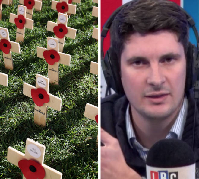 Aaron Bastani sparked fury as he called for the British Legion to be shut down