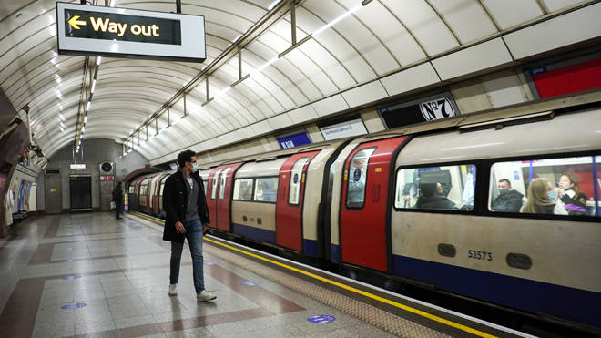 TfL passenger numbers have plummeted during the pandemic