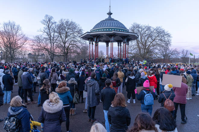 The 33-year-old's disappearance sparked a wave of vigils, including one on 13 March on Clapham Common which was subsequently broken up by police.