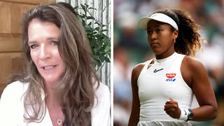 'I used to dread interviewing Naomi Osaka,' Annabel Croft reveals to LBC