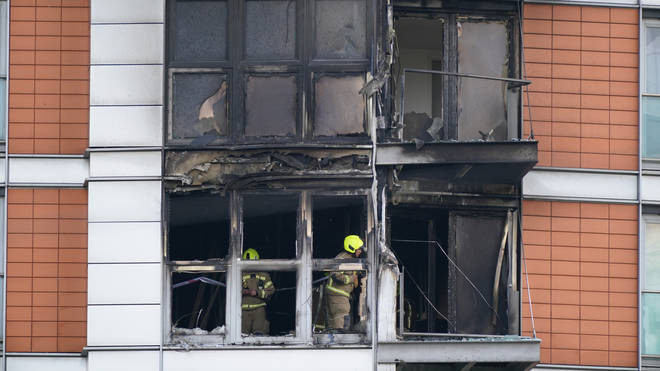 A serious failure of the ventilation system meant New Providence Wharf flats in east London were smoke-logged