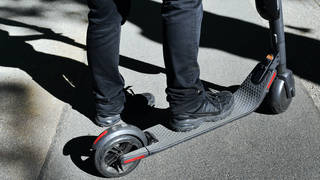 E-scooters are subject to the same legal requirement as other vehicles in the UK