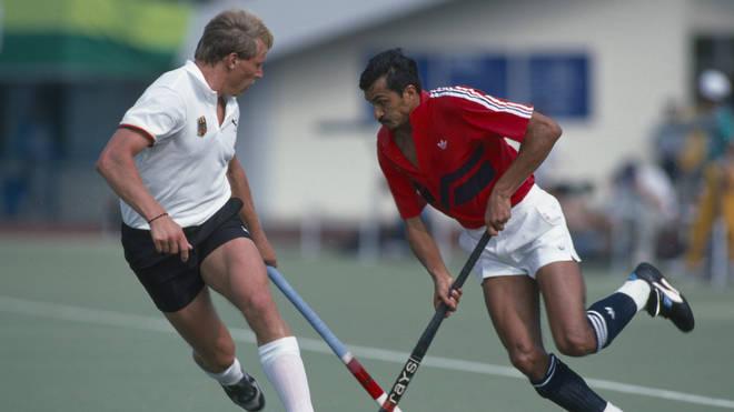 Imran Sherwani at the 1988 Summer Olympic Games in Seoul
