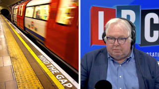 Nick Ferrari's fiery debate with train driver who brands driverless tube plans as 'fantasy'