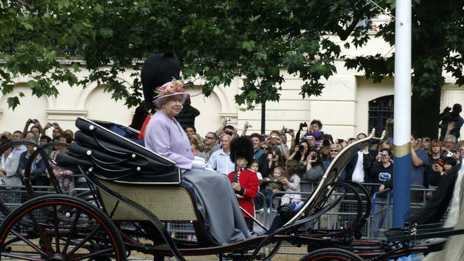 The Trooping of the Colour has marked the official birthday of the British Monarch for over 260 years
