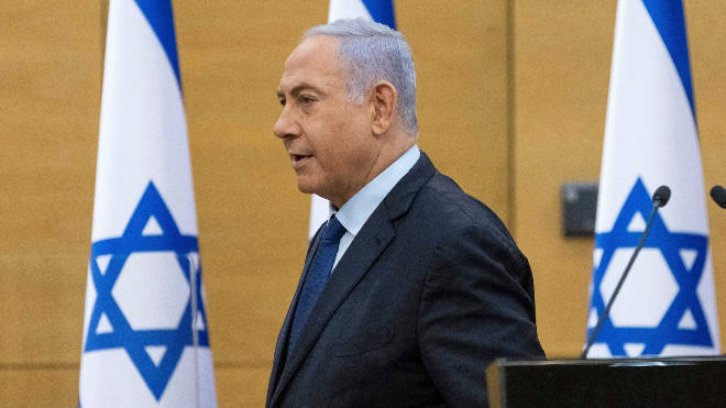 Benjamin Netanyahu's 12 years as Israel's prime minister is to come to an end