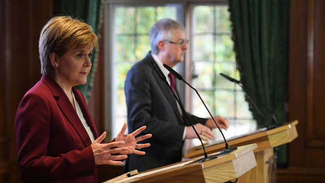 """Nicola Sturgeon and Mark Drakeford initially pulled out over concerns the meeting was just a """"PR exercise"""""""