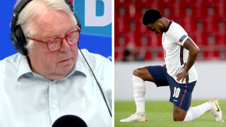 Caller backs footballers taking the knee and is 'happy' to hear booing