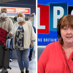 The travel expert was speaking to LBC's Shelagh Fogarty