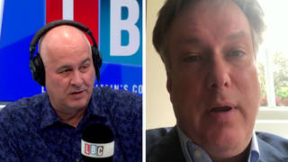 The Tory MP was speaking to Iain Dale