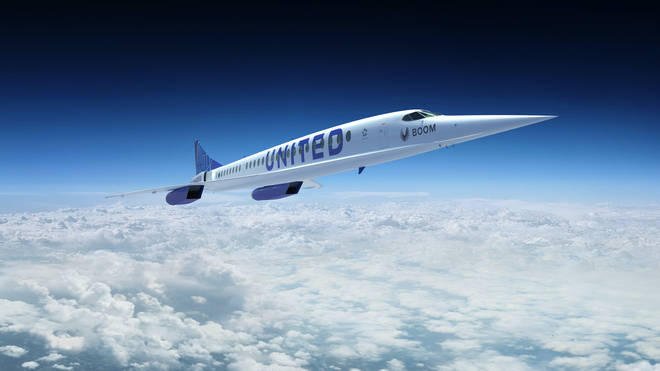 United has agreed to purchase 15 Overture airliners made by US firm Boom Supersonic
