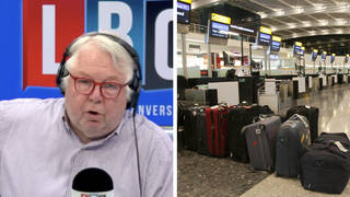 Nick Ferrari questions minister: 'Why don't you just tell people don't go on holiday?'