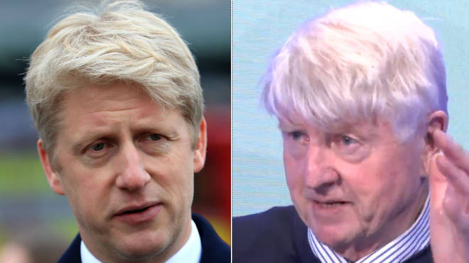 Jo Johnson & Stanley Johnson