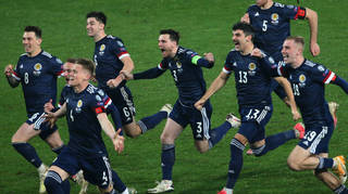 Scotland qualified for EURO 2020 after beating Serbia on penalties in a play-off