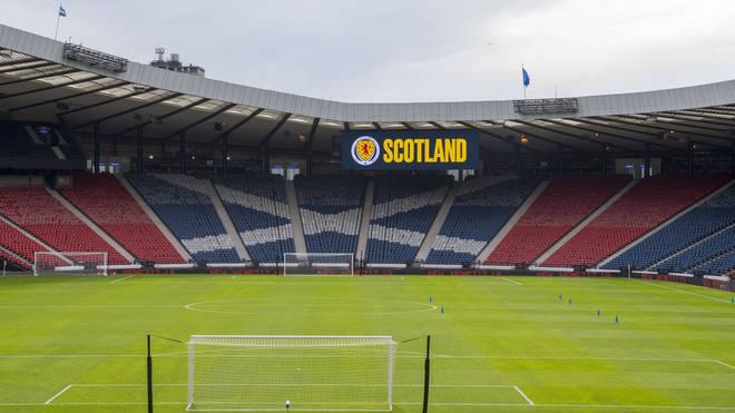 Hampden Park in Glasgow will host Scotland's first match against the Czech Republic