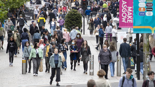 Glasgow has dropped to Level 2 of Scotland's coronavirus measures