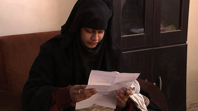 """Shamima Begum said she joined IS so she wouldn't be """"left behind"""""""