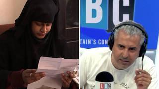 Maajid Nawaz: UK should 'do the right thing' in Shamima Begum case