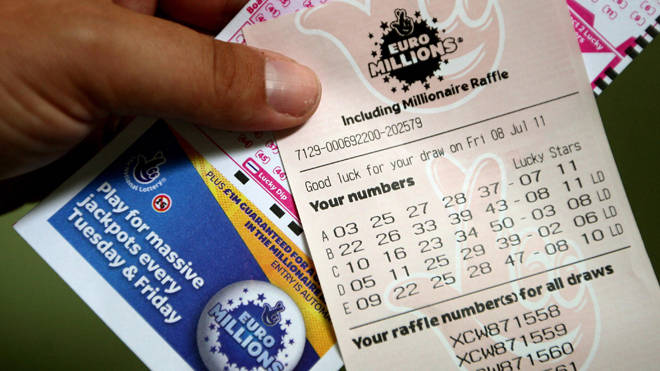 A ticket holder has claimed the £111m prize