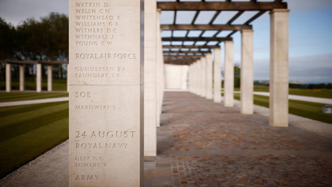 The new British Normandy Memorial at Ver-sur-Mer