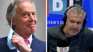 Maajid Nawaz destroys Tony Blair's proposal for domestic vaccine passports