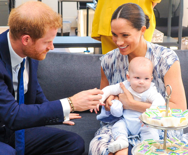 The little girl is a sister for the couple's first son, Archie Harrison Mountbatten-Windsor, who recently turned two.