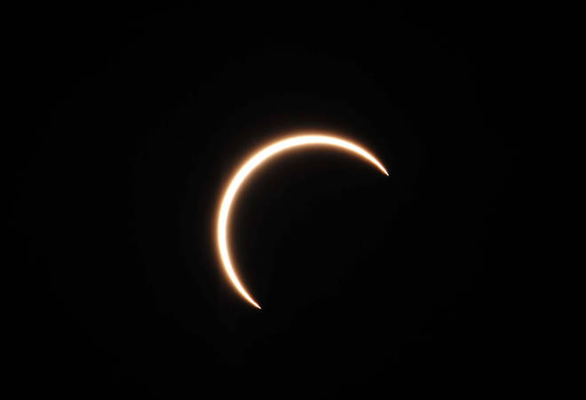 UK skygazers will see the partial solar eclipse on Monday