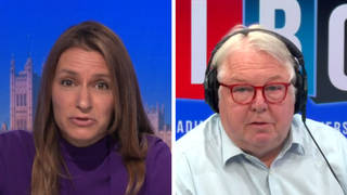 Nick Ferrari challenged the Solicitor General