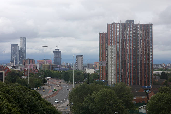 Many of Salford's high-rise towers have been at the centre of the UK's cladding crisis
