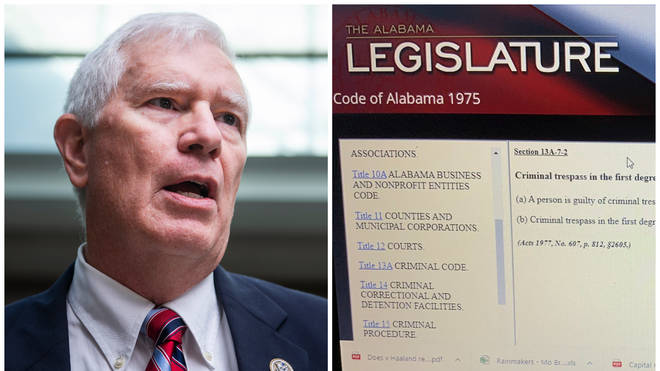 Mo Brooks accidentally tweets Gmail password amidst lawsuit over Capitol insurrection