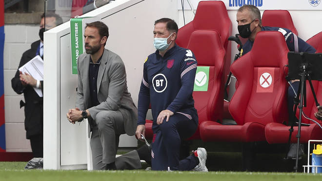 England manager Gareth Southgate confirmed his team will continue to take the knee