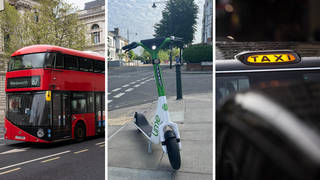 E-scooterv Cab v Public Transport in London - which is the fastest commute?