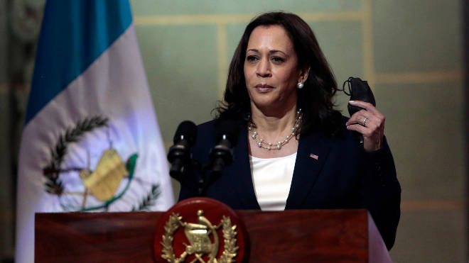 Kamala Harris told would-be Guatemalan migrants not to come to the US
