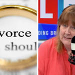 No-fault divorce could've prevented tracking of wife, caller tells LBC.