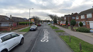 Officers were called to reports of a stabbing on Stoneygate Road, Challney, at around 4pm.