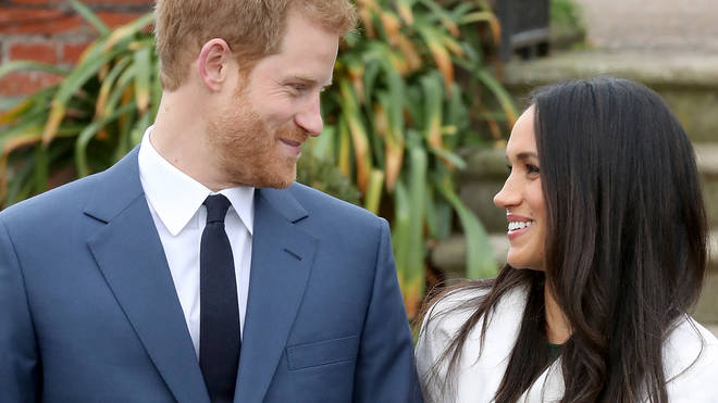 Prince Harry and Meghan's photocall