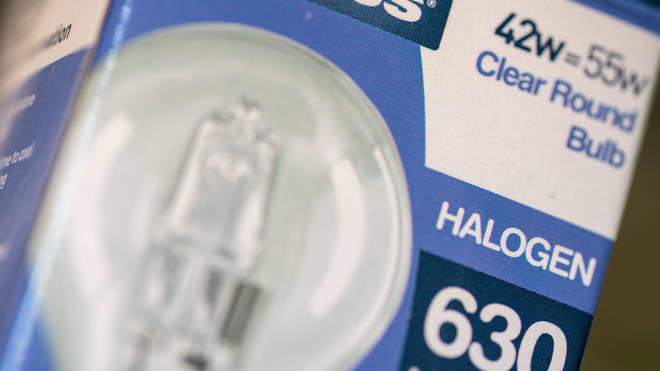Phasing out of the halogen bulbs began in 2018.