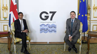 The UK will host the 2021 G7 Summit in Cornwall this month