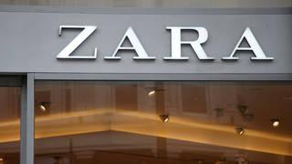 A Zara shop