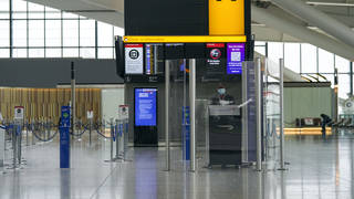 The departures area at Heathrow Terminal 5