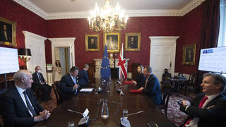 """Talks between Brexit minister Lord Frost and European Commission vice president Maros Sefcovic resulted in """"no breakthroughs"""""""