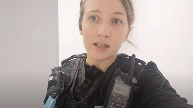 PC Leanne Gould from Devon and Cornwall Police who voiced her concern about unvaccinated police officers gathering at the G7 summit