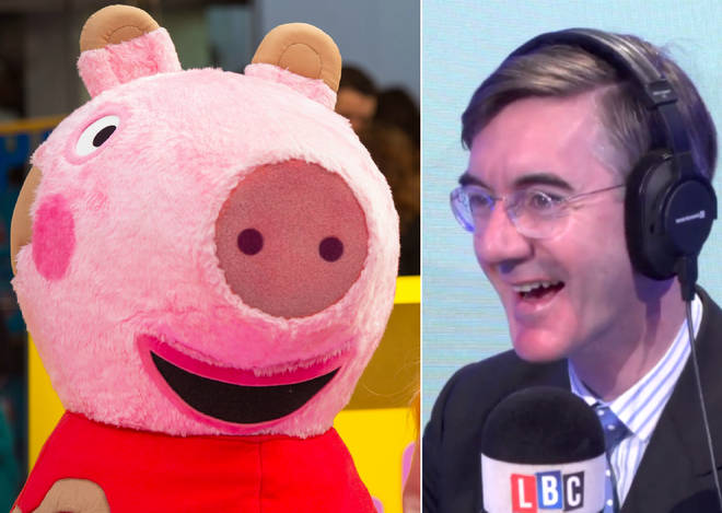 Jacob Rees-Mogg was tested on his knowledge of Peppa Pig