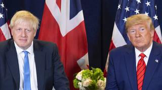 Boris Johnson has praised Joe Biden's differences from Mr Trump