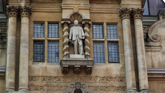 Lecturers are refusing to teach students at an Oxford University college over its decision not to remove a statue of Cecil Rhodes, it has been reported