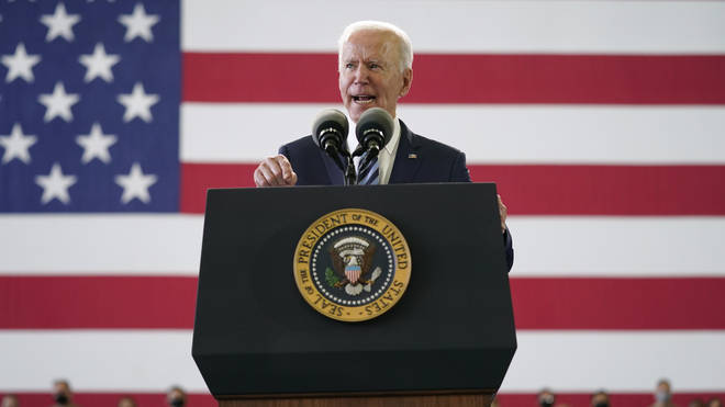 Joe Biden's first foreign visit as US President could scarcely havecome at a more significant moment, LBC's Ben Kentish write