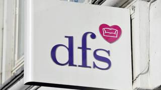 A DFS sign