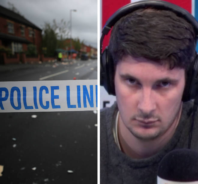 The caller on stop and search moved LBC listeners