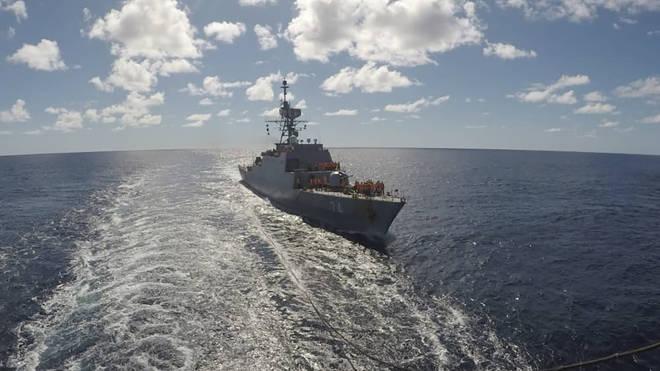 Iran Navy Mission
